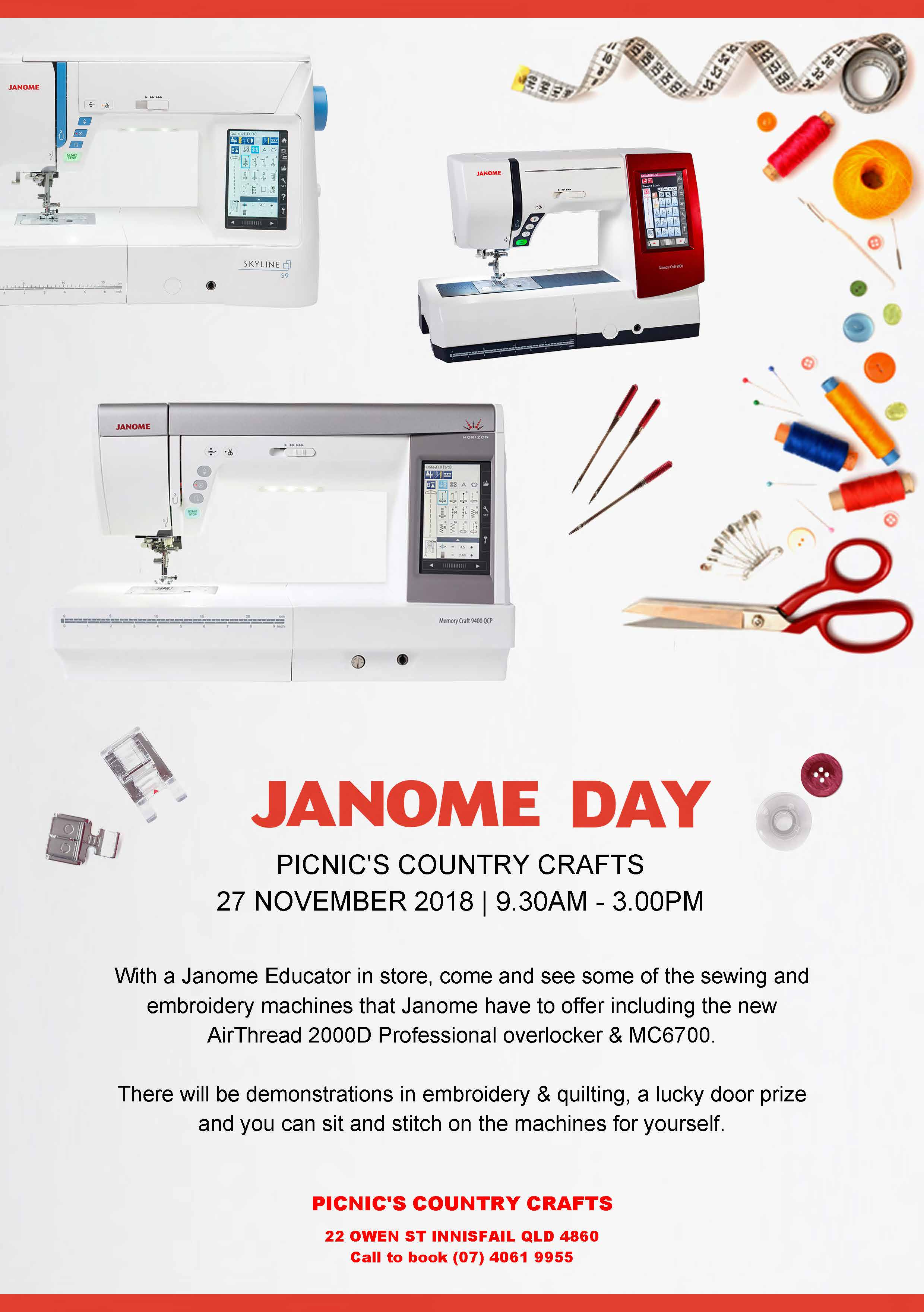 Janome Day